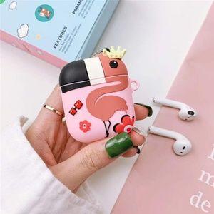 Flamingo Apple Airpods Case Cover